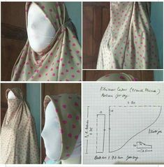 Drape Skirt Pattern, Sewing Projects For Beginners, Sewing Tutorials, Draped Skirt, Mode Hijab, Hijabs, Pattern Fashion, Hijab Fashion, Sewing Patterns