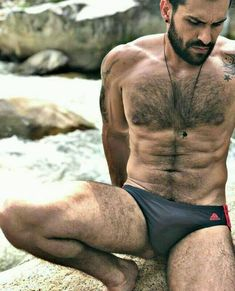 Bulges y piss men: Photo Hairy Hunks, Hairy Men, Bearded Men, Guys In Speedos, Hommes Sexy, Hairy Chest, Mature Men, Muscle Men, Male Body