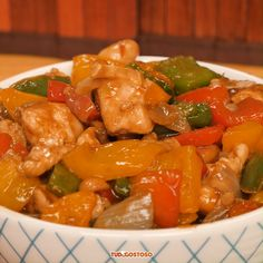 Frango Xadrez Fun Easy Recipes, Asian Recipes, Easy Meals, Healthy Recipes, Good Food, Yummy Food, Canadian Food, Food Garnishes, Food Journal