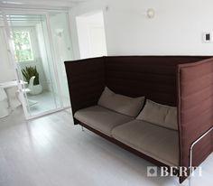 Berti Pavimenti Legno, installazione di un parquet BertiStudio Rovere Blanchè. #parquet #parquetlovers