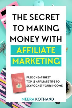 In this post I interview Michelle who makes over $50,000 each month in affiliate sales and ask her some tough questions about affiliate marketing and the mistakes and myths bloggers make and have about it