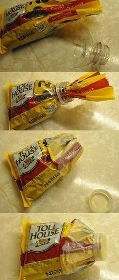 A good way to keep snacks under seal
