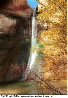Hiking Beautiful Calf Creek Falls