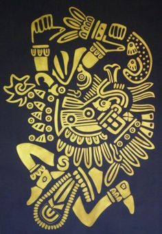 Quetzalcoatl, Feathered serpent and Wind god Alejandro Moises Calderon - Artelista.com - en