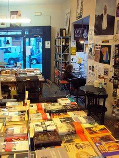 La Fugitiva en Madrid: Libros y cafés al lado de la Filmoteca | DolceCity.com
