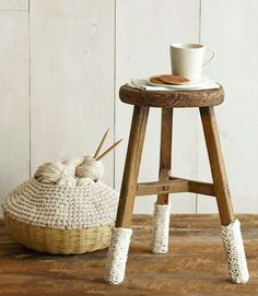Cool Knitted Furniture And Decor Ideas