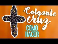 Colgante cruz ♥︎ macramé | Como hacer | How to - YouTube