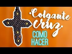 Colgante cruz ♥︎ macramé | Como hacer | How to - YouTube