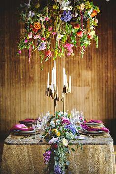 Photography : Eric Foley Photography Read More on SMP: http://www.stylemepretty.com/massachusetts-weddings/lenox/2015/04/22/vibrant-gustav-klimt-wedding-inspiration/