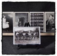 Max & Co Post - black & white Books and Bikes postcards - www.maxandcopost.com #vintage #photography #europe #encycolpedia