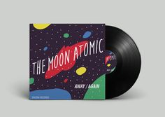 The Moon Atomic - Album Art by Kevin Synoga, via Behance