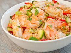 """Serious Salads: Vietnamese Shrimp and Quinoa Salad   Serious Eats: Recipes - Mobile Beta!"""""""