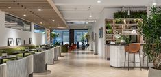 2021 WIN Awards entry: Fora at 22 Berners Street - Oktra Cove Lighting, Corporate Interiors, Terrazzo Flooring, Banquette Seating, Victorian Furniture, Workplace Design, Co Working, Space Architecture, Coworking Space