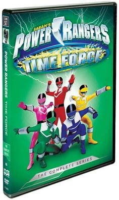 Power Rangers Time Force DVD Giveaway #PowerRangers