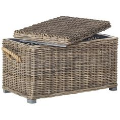 Shop for Safavieh Salim Grey Natural Rattan Storage Trunk. Get free delivery at Overstock.com - Your Online Home Decor Shop! Get 5% in rewards with Club O!