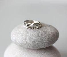 Koruna, hopeatyöt, hopeakorut, sormukset, käsintehdyt korut, handmadejewelry, silverjewelry, ring