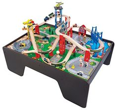 KidKraft Super Expressway Train Set & Table…