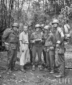Merrill's Marauders. 1944 Merrill's Marauders (named after Frank Merrill) or Unit Galahad, officially named the Composite Unit (Provisional), was a United States Army. European History, American History, Ww2 Photos, American Soldiers, American Veterans, Military Pictures, United States Army, Historical Images, The Marauders