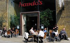 JJ Watt said: eat Nando's with preference to the restaurant on Southwark because it's one of the most beautiful locations. Plus, great chicken!