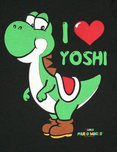 One of my nicknames is Yoshi, so this feels weird to pin.