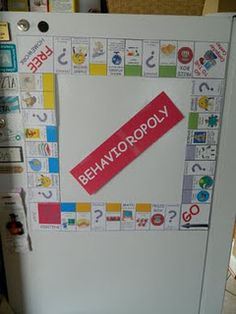 "Behavior Management- OMG if only I had found this last semester when I had to make a board game! And there is a link for ""homework-opoly"" too"