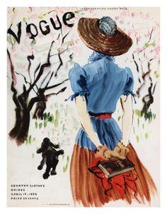 Vogue Cover - April 1938