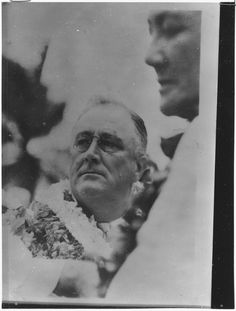 Franklin D. Roosevelt in Hawaii