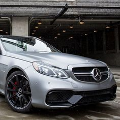 As long as we're talking about ski trips to Stowe Mountain Resort in Vermont, let's talk about what might be the ultimate skiing road trip car: the E63 AMG S-Model 4MATIC Wagon. With 577-hp and 590 lb-ft of torque coursing through all four wheels, the E63 Wagon's handcrafted 5.5-liter biturbo V-8 will get you to the slopes on time—and then some.   Mercedes-Benz E63 AMG S-Model 4MATIC Wagon   #E63 #AMG #mercedes #benz #instacar E63 Amg S, Mercedes Benz E63 Amg, Ski Trips, Daimler Ag, Benz E Class, Weird Cars, Mountain Resort, Love Car, Sport Cars