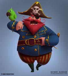 ArtStation - Pirate, Rayner Alencar