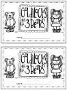 Goldilocks and the Three Bears {Printable Booklet} product from Natalies-Nook on TeachersNotebook.com