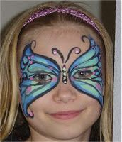 Make your own Face Paint - corn starch, water, cold cream, food coloring