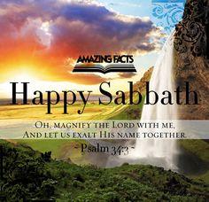 #felizsabado   Psalm 34:3        http://www.sdahymnal.net/