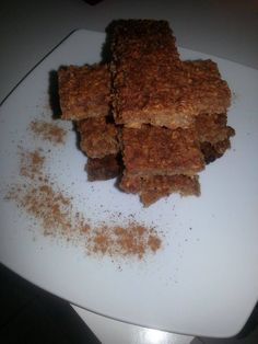 Oat Apple bars without sugar,so yummy!!