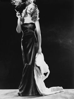"Hollywood icons | Vogue Paris Rita Hayworth, 40's screen icon.  After her turn as ""Gilda"", she was a Hollywood legend.  She married Prince Ali Khan, but came back to Hollywood & acted through the 1960's.  Most actresses in those days didn't have a career lasting more than 5 years.  She was legend."