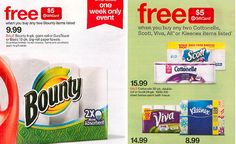 Target: *HOT* Deals on Paper Towels Mama Bees Freebies