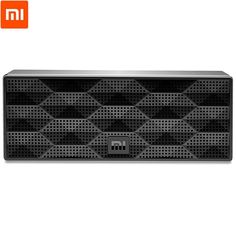 Xiaomi portable Bluetooth V4.0 speaker with square box design  Built-in 1200mAh Li-battery, support for 10 hours playing  Concise and maneuverable design, clean and transparent sound  Durable structure with ABS surface and aluminum alloy side box  Work with most of Bluetooth enabled devices, such as mobile phones, tablets, computers, etc Bluetooth Version:  V4.0  Brand: Xiaomi  Material:  ABS, Metal  Color:  Black  Operating range:  10m  Function:  Stereo, Noise Cancelling, Portable…