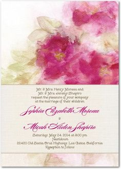ombre forest signature white textured wedding invitations in Wedding Paper Divas Ombre Forest ombre forest signature white textured wedding invitations in willow or amethyst smudge ink white texture, forest wedding invitations and wedding Wedding Dresses