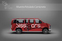 Cliente: Sissigars / Diseño Rotulado Vehículo / Propiedad Idea Digital / 2014 / #Van  #diseño #diseñográfico #design #corporateindetity #vehicle #van #vandesign #graphicdesign #Ventas #creative #art #business #marketing #ideadigital Visítanos en: www.ideadigital.com.ve