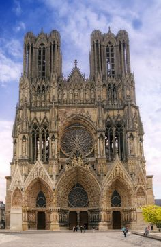 Reims Cathedral, Champagne, France