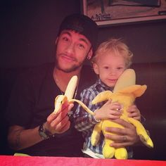 Pin for Later: The World Cup's Hottest Dads Are Even Bigger Stars in the Eyes of Their Kids Neymar da Silva Santos Júnior — Brazil Source: Instagram user neymarjr