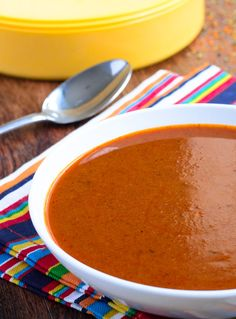 Easy Homemade Enchilada Sauce is waaaaay better than the canned stuff! - The Spice Kit Recipes (www.thespicekitrecipes.com)
