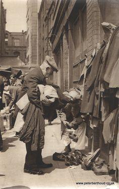 Second hand clothes Brick Lane 1930's
