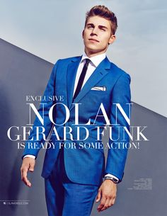 Glamoholic.com | Exclusive Interview With Nolan Gerard Funk on The Canyons, Riddick and MTV's Awkward!