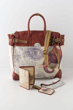 Weekender Bag and accessories
