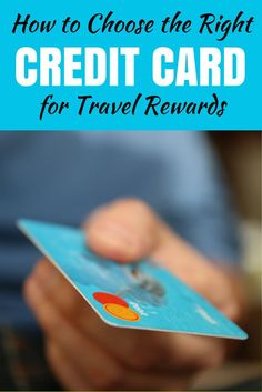 Are you earning the right miles and points toward free travel? Find out how picking the right credit card for travel rewards is a big part of that equation and learn if you have the wrong one!