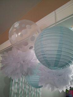 Tiffany blue decor