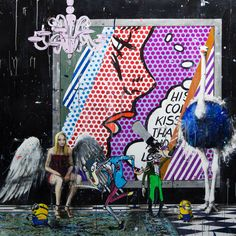 Angelo Accardi's - DON'T FLY AWAY. #Oil, #acrylic and #ink #painting .