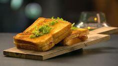 Klassisk parisertoast er en lækker opskrift fra Go' morgen Danmark, se flere snacks på mad.tv2.dk