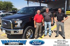 https://flic.kr/p/JQXLEG | Happy Anniversary to Cecil on your #Ford #F-150 from Justin Bowers at Waxahachie Ford! | deliverymaxx.com/DealerReviews.aspx?DealerCode=E749