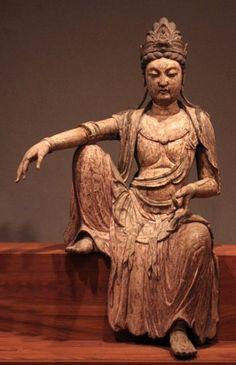 The bodhisattva Kuan-yan (Guan Yin), Northern Sung dynasty, China, c. 1025, wood